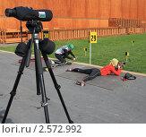 Купить «Пара у 29 рубежа», эксклюзивное фото № 2572992, снято 26 мая 2011 г. (c) Анатолий Матвейчук / Фотобанк Лори