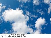 Купить «Облака, небо. Фон», фото № 2582872, снято 3 июня 2011 г. (c) А. А. Пирагис / Фотобанк Лори