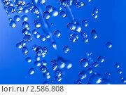 Капли воды. Стоковое фото, фотограф Василий Повольнов / Фотобанк Лори