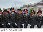 Купить «Курсанты МВД», эксклюзивное фото № 2588108, снято 9 мая 2011 г. (c) Free Wind / Фотобанк Лори