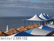 Крым. Алушта. Пляж. (2008 год). Стоковое фото, фотограф Анжелика Сеннова / Фотобанк Лори