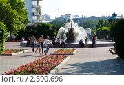 Екатеринбург, площадь труда (2011 год). Редакционное фото, фотограф Полищук Евгений / Фотобанк Лори