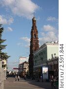 Колокольня (2011 год). Редакционное фото, фотограф Андрианов Владислав / Фотобанк Лори