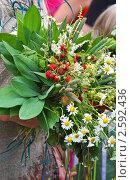 Купить «Фестиваль флористики « Цветень», букеты и композиции из цветов на фоне природы», фото № 2592436, снято 4 июля 2010 г. (c) ElenArt / Фотобанк Лори