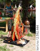 Купить «Фестиваль флористики « Цветень», букеты и композиции из цветов на фоне природы», фото № 2592444, снято 4 июля 2010 г. (c) ElenArt / Фотобанк Лори