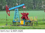 Купить «Добыча нефти - нефтяная качалка», фото № 2601020, снято 5 июня 2011 г. (c) Михаил Коханчиков / Фотобанк Лори