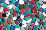 Фон. Мозаика из цветных камней, фото № 2601500, снято 12 июня 2011 г. (c) А. А. Пирагис / Фотобанк Лори