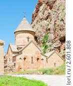 Купить «Церковь. Нораванк. Армения», фото № 2601808, снято 9 июня 2011 г. (c) Екатерина Овсянникова / Фотобанк Лори