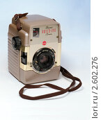 Купить «Камера Kodak Brounie Bull's eye», фото № 2602276, снято 5 декабря 2010 г. (c) Валерий Плоскирев / Фотобанк Лори