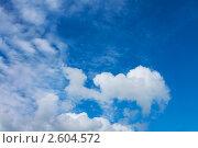 Купить «Облака», фото № 2604572, снято 11 июня 2010 г. (c) ElenArt / Фотобанк Лори