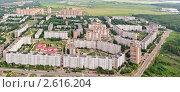 Купить «Вид на город Электросталь с высоты птичьего полета», фото № 2616204, снято 13 июня 2011 г. (c) Юрий Коблов / Фотобанк Лори