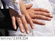 Свадебные кольца. Стоковое фото, фотограф Анна Павлова / Фотобанк Лори