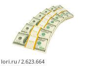 Купить «Пачки денег», фото № 2623664, снято 25 апреля 2009 г. (c) Elnur / Фотобанк Лори
