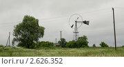 Старинный ветряк в Украинском селе. Стоковое фото, фотограф Алексей Петренко / Фотобанк Лори