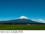 Купить «Гора Фудзи. Япония», фото № 2626916, снято 4 декабря 2009 г. (c) Павел Байшев / Фотобанк Лори