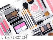 Купить «Инструменты для макияжа», фото № 2627324, снято 22 декабря 2010 г. (c) Дмитрий Эрслер / Фотобанк Лори