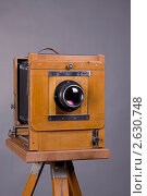 Фотоаппарат большого формата. Стоковое фото, фотограф Александр Кадацкий / Фотобанк Лори