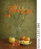 Натюрморт с апельсинами. Стоковое фото, фотограф Татьяна Малинич / Фотобанк Лори
