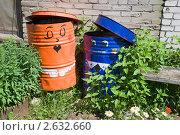 Купить «Две бочки. Сладкая парочка», эксклюзивное фото № 2632660, снято 29 июня 2011 г. (c) Александр Щепин / Фотобанк Лори