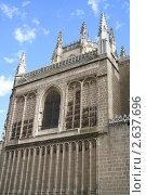 Купить «Город Толедо, стена монастыря Сан Хуан де лос Рейес», фото № 2637696, снято 13 сентября 2005 г. (c) Солодовникова Елена / Фотобанк Лори