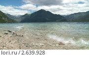 Купить «Вид на горное озеро Лаго Эпужен. Патагония, Аргентина.», видеоролик № 2639928, снято 16 мая 2010 г. (c) Алексей Кузнецов / Фотобанк Лори