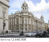 Улица Уайтхолл (Whitehall) в Лондоне (2011 год). Редакционное фото, фотограф Михаил Марков / Фотобанк Лори