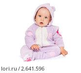 Купить «Малыш в сиреневом комбинезоне», фото № 2641596, снято 29 мая 2011 г. (c) Типляшина Евгения / Фотобанк Лори