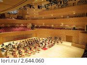 Купить «Сцена концертного зала Мариинского театра», фото № 2644060, снято 25 июня 2019 г. (c) Vladimir Kolobov / Фотобанк Лори