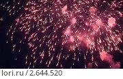 Купить «Фейерверк», видеоролик № 2644520, снято 15 мая 2011 г. (c) Алексей Кузнецов / Фотобанк Лори