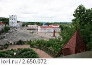 Город Мозырь. Вид сверху., фото № 2650072, снято 2 июля 2011 г. (c) Марина Шатерова / Фотобанк Лори
