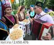Купить «Праздник Сабантуй», фото № 2650476, снято 2 июля 2011 г. (c) Виктор Филиппович Погонцев / Фотобанк Лори