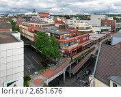 Купить «Улицы города Падерборн, Германия», фото № 2651676, снято 17 июня 2019 г. (c) Fro / Фотобанк Лори