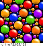 Купить «Бесшовная текстура с шариками», иллюстрация № 2655128 (c) Aqua / Фотобанк Лори