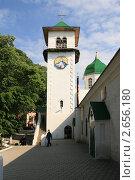 Купить «Свято-Михайловский Афонский мужской монастырь. Вид на колокольню», фото № 2656180, снято 13 июня 2008 г. (c) Игорь Дашко / Фотобанк Лори