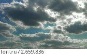 Купить «Таймлапс облачного неба», видеоролик № 2659836, снято 17 июля 2010 г. (c) Арсений Герасименко / Фотобанк Лори