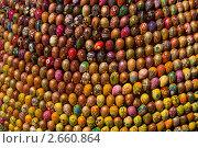 """Купить «""""Сфера возрождения"""" - инсталляция из пасхальных яиц в Киево-Печерской  Лавре», фото № 2660864, снято 10 июня 2011 г. (c) Dmitry S. Marshavin / Фотобанк Лори"""