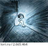 Купить «Одиночество», фото № 2665464, снято 7 декабря 2019 г. (c) Дарья Филимонова / Фотобанк Лори