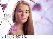 Купить «Портрет девушки», фото № 2667892, снято 28 мая 2018 г. (c) Андрей Батурин / Фотобанк Лори