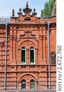 Фрагмент стены дома. Стоковое фото, фотограф Кошевой Олег Викторович / Фотобанк Лори
