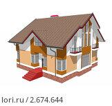 Модель дома, иллюстрация № 2674644 (c) Геннадий Соловьев / Фотобанк Лори