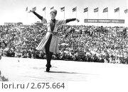 Чечня до войны. На сцене Махмуд Эсамбаев. Редакционное фото, фотограф Артур Батчаев / Фотобанк Лори