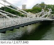 Мост в Сингапуре (2010 год). Стоковое фото, фотограф Баранов Александр / Фотобанк Лори