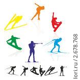 Купить «Зимние виды спорта», иллюстрация № 2678768 (c) Эдуард Бежанов / Фотобанк Лори
