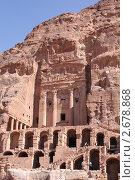 Город Петра в Иордании (2010 год). Редакционное фото, фотограф Фионова Галина / Фотобанк Лори