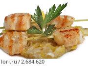 Купить «Шашлык из рыбы», фото № 2684620, снято 2 июня 2010 г. (c) Коваль Василий / Фотобанк Лори