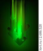 Купить «Зеленый фон со стрелками», иллюстрация № 2686520 (c) Владимир / Фотобанк Лори
