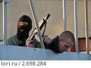 Купить «Захват заложника. Антитеррористические учения», эксклюзивное фото № 2698284, снято 25 мая 2011 г. (c) Free Wind / Фотобанк Лори