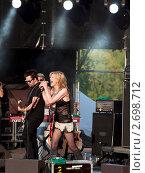Пикник Афиши, Кортни Лав (2011 год). Редакционное фото, фотограф Петр Крупенников / Фотобанк Лори