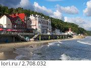 Купить «Светлогорск - город-курорт», фото № 2708032, снято 9 августа 2011 г. (c) Сергей Куров / Фотобанк Лори