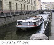 Речной трамвайчик (2006 год). Редакционное фото, фотограф Жеглов Максим / Фотобанк Лори